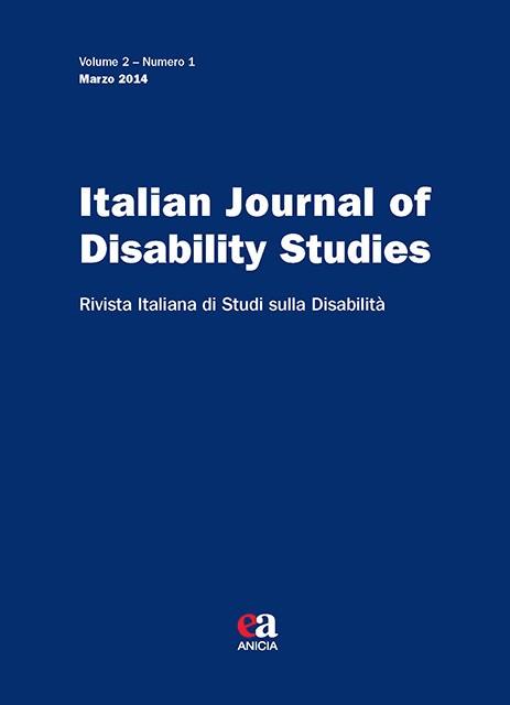 Italian Journal of Disability Studies - V. 2 - N. 1